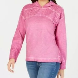 Style & co pink hoodie